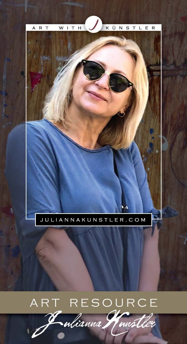 Julianna Kunstler's Art resource for artists,teachers, and parents. Complete high school Art Department curriculum, art portfolio, lesson plans & tutorials, coloring projects, and more. Official site of Julianna Kunstler.