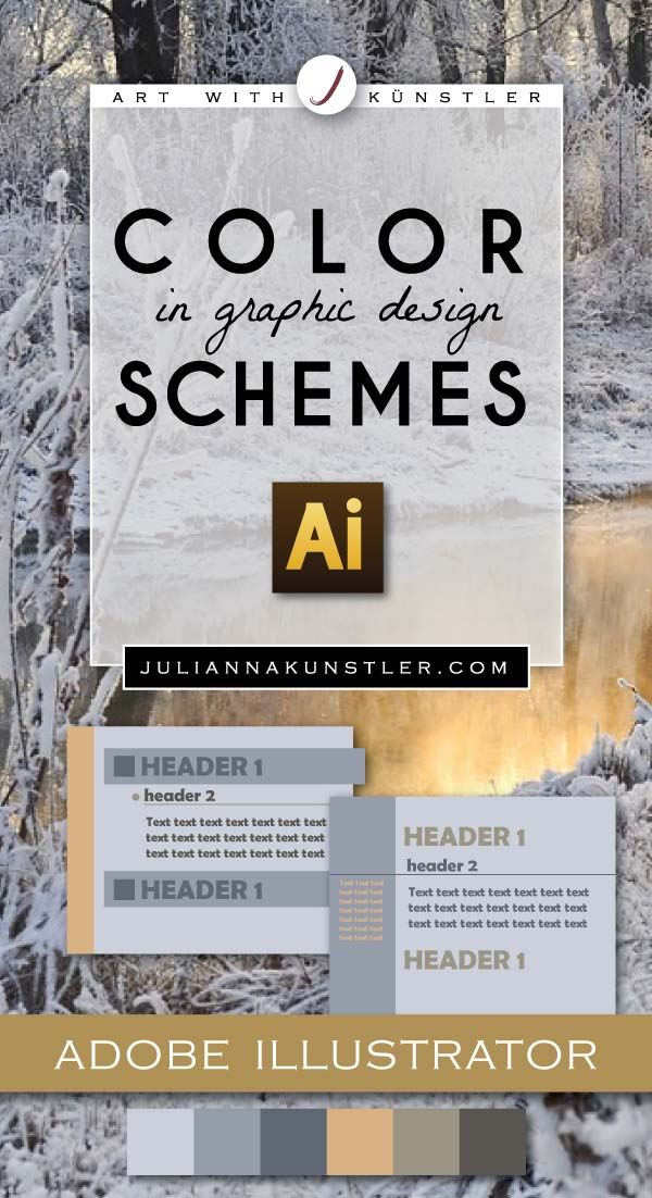 Color schemes in Graphic Design  Classic and intuitive