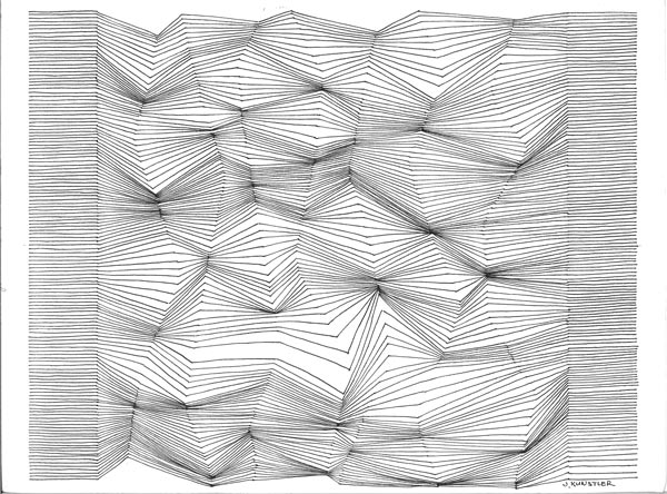 Drawing Lines With Html : Drawing with lines optical design art lesson