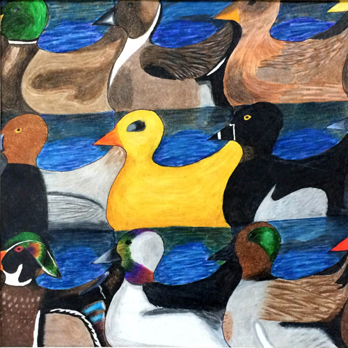 tessellations ducks