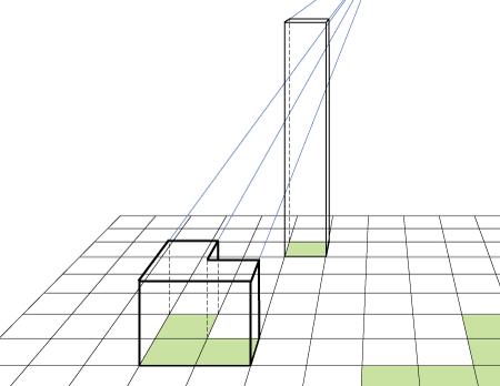 1 point perspective form 2