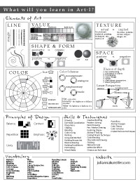 art syllabus for middle school