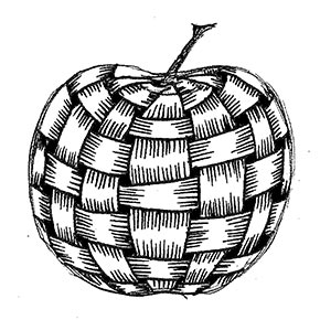 weaved apple