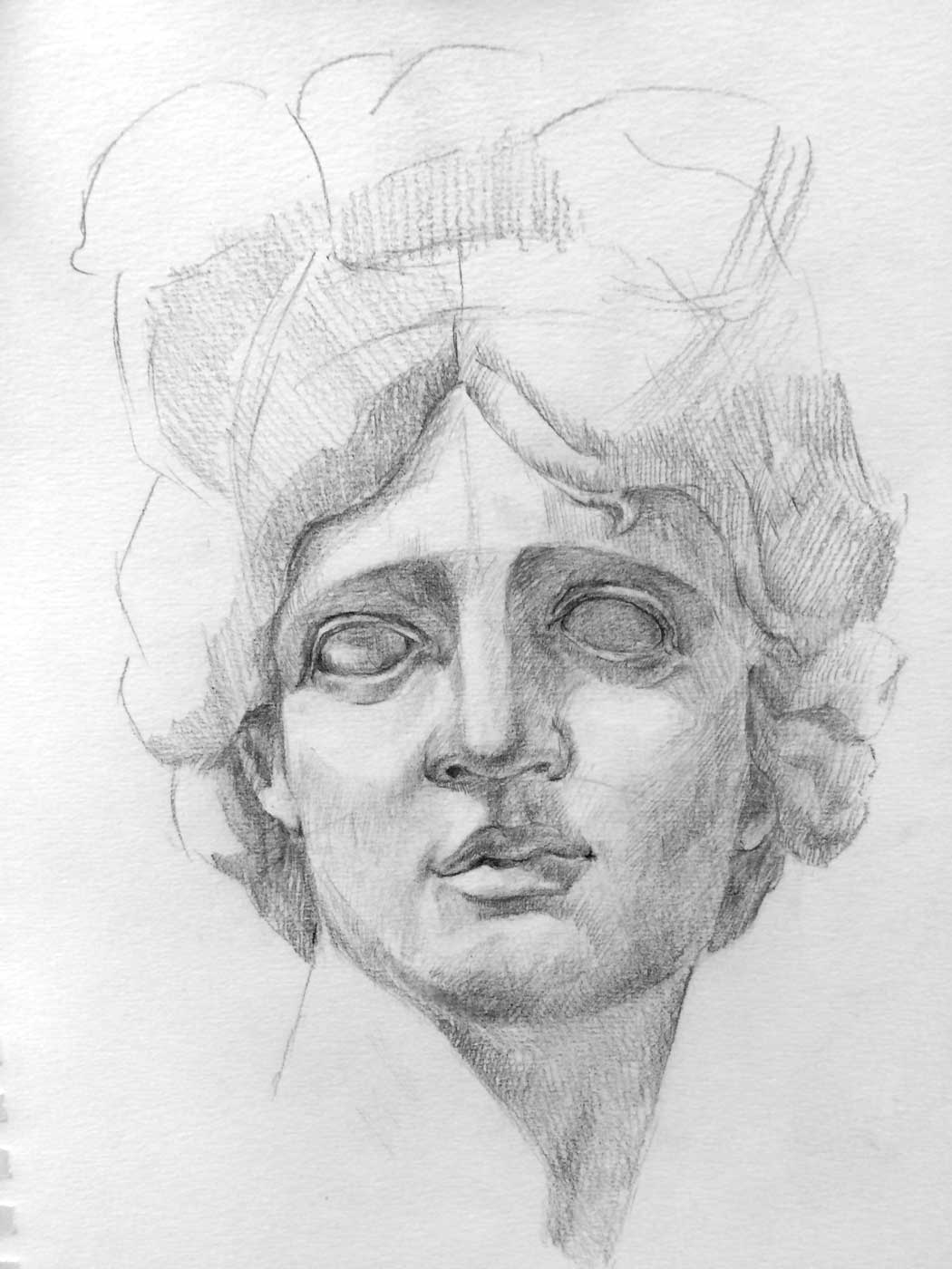 Facial Proportions How To Start Drawing A Portrait Antique