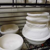 how to use ceramic stains before bisque firing