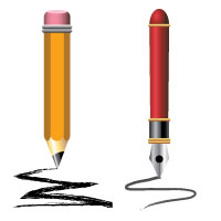 pencil in illustrator