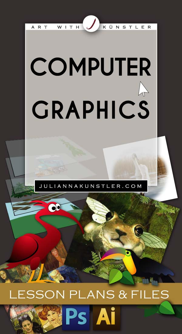 Computer Graphics. Lesson plans, work files, presentations.