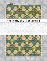 colorina art nouveau patterns