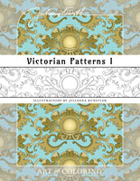 coloring victorian patterns