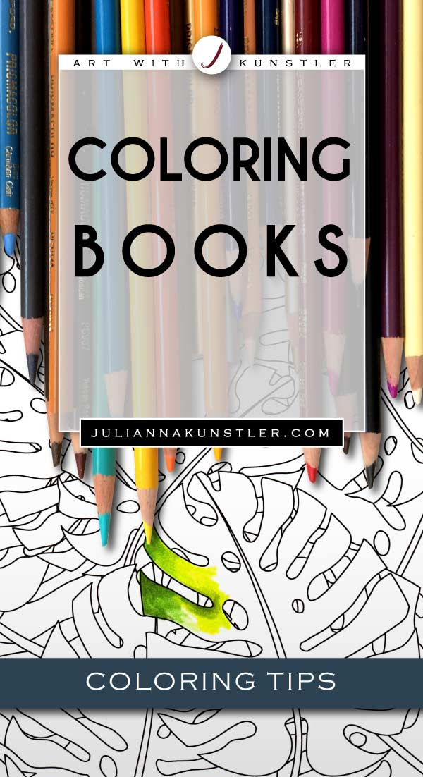 Coloring tips for books