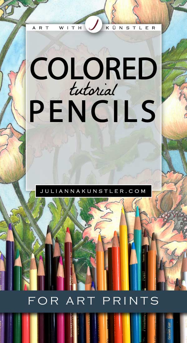 How to use colored pencils in your coloring projects. Tips and tutorials for coloring art prints.
