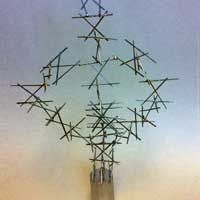 toothpick sculpture