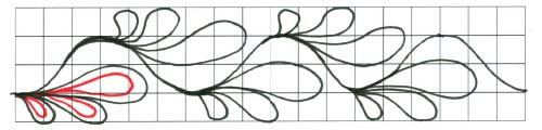 pattern drawing step