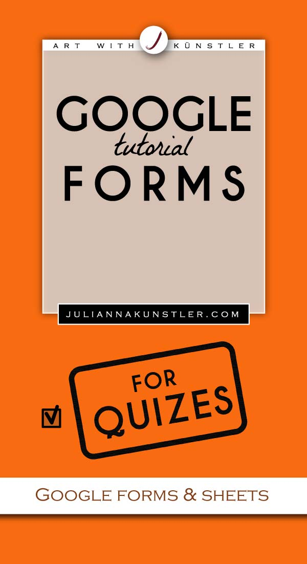 Google forms for quizes. Step-by-step tutorial. How to set up a quiz.